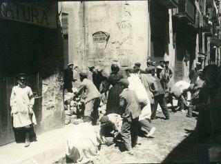 5.Frederic Ballell - Setmana Tràgica, 1909. Arxiu Fotogràfic de Barcelona.