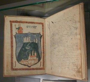 Llibre Ferrat. Rèplica de l'original.