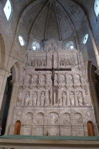 Retaule de l'altar major. Segle XVI.