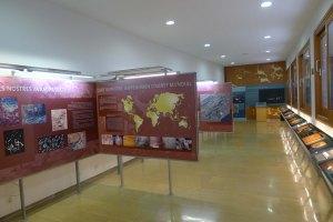 Interior del Centre d'Interpretació.